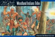 Warlord Games  28mm Black Powder: Woodland Indians Tribe 1776-1783 (24) (Plastic) WRLAWI05