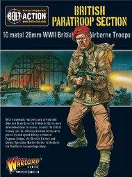 Warlord Games  28mm Bolt Action: WWII British Paratroopers (10) (Metal) WRLBA03