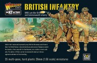 Warlord Games  28mm Bolt Action: WWII Late War British Infantry (25) (Plastic) WRLBI01