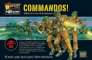 Warlord Games  28mm Bolt Action: WWII British or Inter-Allied Commandos (25) (Plastic) WRLBI03
