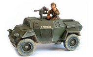 Warlord Games  28mm Bolt Action: WWII Humber British Scout Car w/Brigadier Joe Vandeleur (Resin w/Metal Parts) WRLBI138