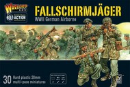 Warlord Games  28mm Bolt Action: WWII German Airborne Fallschirmjager (30) (Plastic) WRLFJ02