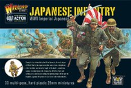 Warlord Games  28mm Bolt Action: WWII Imperial Japanese Infantry (30) (Plastic) WRLJI02