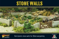 "Warlord Games  28mm Stone Walls (54"" Modular Sections) WRLTER38"