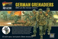 Warlord Games  28mm Bolt Action: WWII Late War German Grenadiers (30) (Plastic) WRLWM09