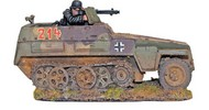 Warlord Games  28mm Bolt Action: WWII Sd.Kfz 250/1 Neu German Halftrack (Resin w/Metal Parts) WRLWM103