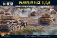 Warlord Games  28mm Bolt Action: WWII Panzer IV Ausf F1/G/H German Medium Tank (Plastic) WRLWM505