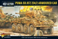 Warlord Games  28mm Bolt Action: WWII Puma Sd.Kfz 234/2 German Armored Car (Plastic) WRLWM506
