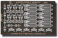 White Ensign Models  1/350 Kamov Ka27 Helix Fittings for 6 TSM Helicopters (D)<!-- _Disc_ --> WEM3561