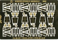 White Ensign Models  1/350 NA RA5C Vigilante Detail Set w/Interior for 6 TSM Aircrafts (D)<!-- _Disc_ --> WEM3570