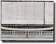 White Ensign Models  1/400 3-Bar Rails & Ladders Detail Set WEM4001