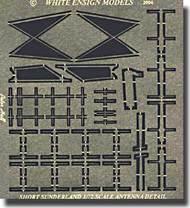 White Ensign Accessories  1/72 Sunderland Exterior Detail Set WEM7202