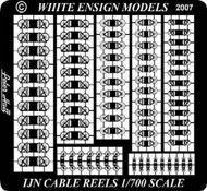 White Ensign Models  1/700 IJN Cable Reels (D)<!-- _Disc_ --> WEM783