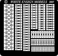 White Ensign Models  1/700 Royal Navy Cable Reels (D)<!-- _Disc_ --> WEM784