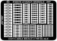 White Ensign Models  1/700 USN Cable Reels (D)<!-- _Disc_ --> WEM785