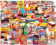 White Mountain Puzzles   N/A Things I Ate As A Kid Collage Puzzle (1000pc) WMP1110
