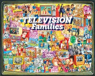 White Mountain Puzzles   N/A Television Families Collage Puzzle (1000pc) WMP1124