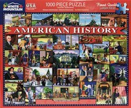 White Mountain Puzzles   N/A American History Collage Puzzle (1000pc) WMP1472