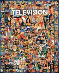 White Mountain Puzzles   N/A TV History Celebrities & Shows Collage Puzzle (1000pc) WMP270