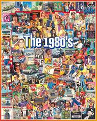 White Mountain Puzzles   N/A The 1980s Events & Famous People Collage Puzzle (1000pc) WMP868