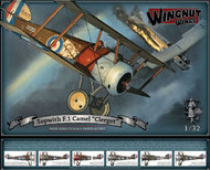 "Wingnut Wings  1/32 Sopwith F.1 Camel ""Clerget"" WNW32074"