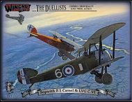 The Duelists Sopwith F.1 Camel & LVG C.VI (2 kits) #WNW32803