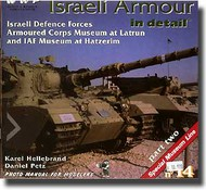 Wings And Wheels Publications   N/A Israeli Armour in Detail Pt.2 WWPR014