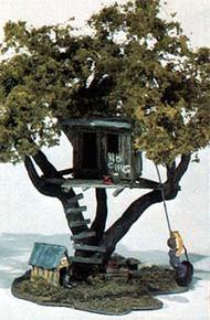 Woodland Scenic  HO Mini Scene Kit- Tommy's Treehouse WOO107