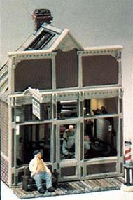 Woodland Scenic  HO Mini Scene Kit- Floyd's Barber Shop WOO111