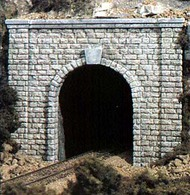 Woodland Scenic  N Cut Stone Single Tunnel Portal (2) WOO1153