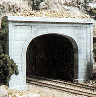 Woodland Scenic  N Concrete Double Tunnel Portal (2) WOO1156