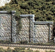 Woodland Scenic  N Cut Stone Retaining Wall (6) WOO1159