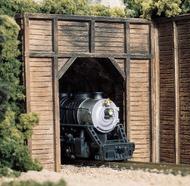 Woodland Scenic  HO Timber Single Tunnel Portal WOO1254