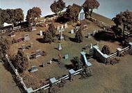 Woodland Scenic  HO Complete Scene Kit- Maple Leaf Cemetery WOO131