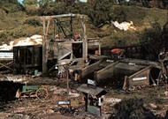Woodland Scenic  HO Trackside Scene Kit- Otis Coal Co. WOO153