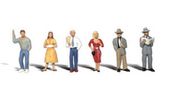 Woodland Scenic  N Scenic Accents Pedestrians Standing (6) WOO2121