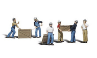 Woodland Scenic  N Scenic Accents Dock Workers (6) WOO2123