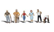 Woodland Scenic  N Scenic Accents Ordinary People Various Poses (6) WOO2124