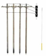 N Pre-Wired Poles Single Crossbar - Pre-Order Item WOO2250
