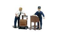 Woodland Scenic  G Dedicated Depot Workers WOO2555