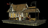Woodland Scenic  N Built-N-Ready The Depot LED Lighted WOO4942