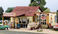 Woodland Scenic  N Pre-Fab Building Sonny's Super Service Gas Station w/Detached Garage WOO5203