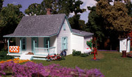 Woodland Scenic  N Pre-Fab Building Country Cottage w/Porch & Shed WOO5206