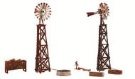 Woodland Scenic  N Pre-Fab Building Windmills (2) WOO5213