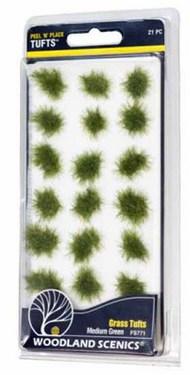 Peel n Place- Medium Green Grass Tufts #WOO771