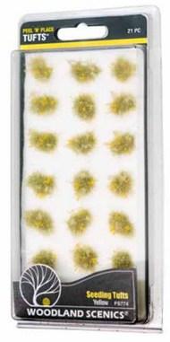 Peel n Place- Yellow Seeding Tufts #WOO774