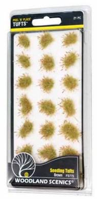 Peel n Place- Brown Seeding Tufts #WOO775