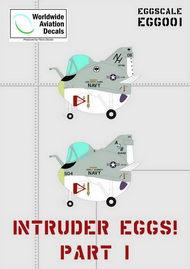Worldwide Aviation Decals  Unknown Grumman A-6 Intruder Eggs (2 options) WADEGG001