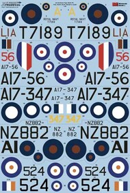 de Havilland DH.82a Tiger Moth Pt1 FAA, RAAF, RNZAF & SAAF (4) #X48205