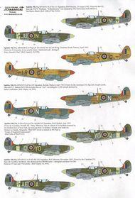 Supermarine Spitfire Mk.Vb late (6) EP166 Ju. XD32042
